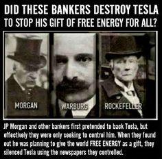 Nikola Tesla fue arruinado por los elitistas