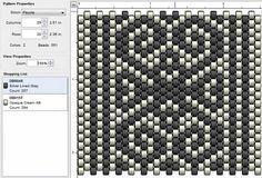 Imaginesque: Beading: Peyote Stitch Pattern 31