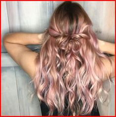 Rose Gold Ombre Hair Color Ideas, Somewhere between full-on pink, strawberry blonde, and the redhead is our new favorite color: rose gold hair. Whoever figured out that shimmery gold a..., Hair Colour Style