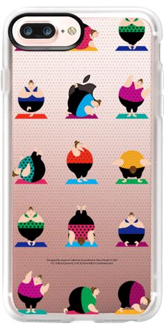 Casetify iPhone 7 Plus Case and iPhone 7 Cases. Other Yoga iPhone Covers - Yoginis In Pose Trans by Maria Kritzas | Casetify