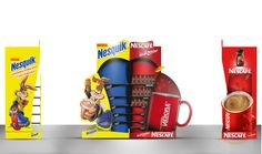Nesquick And Nescafe Joint Stand (Stand,gondol)