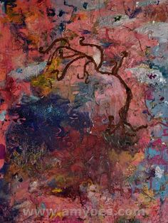 The latest artwork of mine - for daily creations see my blog www.allspiceandacrylics.blogspot.com and my website amyoes.com - which will have an online store very soon!