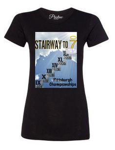 Women's Stairway To Seven T-Shirt