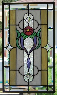 Stained Glass Window Hangingy
