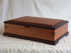 Valet Box - by Mean_Dean @ LumberJocks.com ~ woodworking community