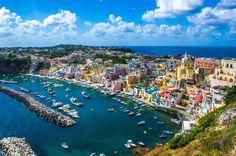 Procida Island Naples, Italy