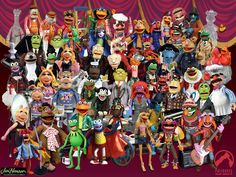 Muppets figures