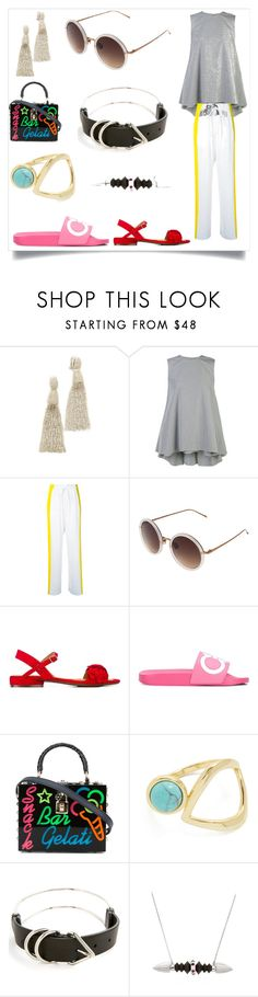 """Set for amazing"" by denisee-denisee ❤ liked on Polyvore featuring Oscar de la Renta, ADAM, Haider Ackermann, Linda Farrow, Chie Mihara, Salvatore Ferragamo, Dolce&Gabbana, Rebecca Minkoff, Alexander Wang and Tina Lilienthal"