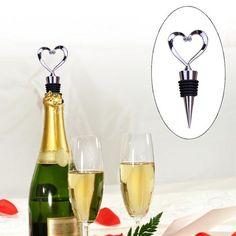 Elegant Heart Shaped Wine Stopper