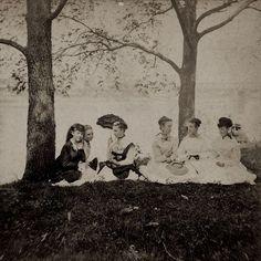 School teachers picnic 1870s
