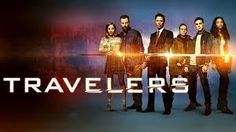 he Future Is Vegan Travelers Time Travel Netflix Tv Show Canadian Netflix Sci Fi Series, Netflix Tv Shows, Netflix Movies, Series Movies, Web Series, Best Tv Shows, Favorite Tv Shows, Travelers Netflix, Sci Fi Shows