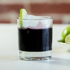 Black Magic: Working on a winter detox? The hangover-smashing Black Magic cocktail combines beet juice with activated charcoal—the latest detox trend that claims to help dispel unwanted toxins. Don't be turned off by the jet-black hue, the charcoal itself is tasteless.