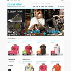 CasualWear Fashion PrestaShop Theme | Prestashop Theme Download