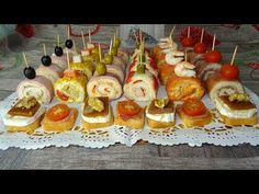 Pan Dulce, Canapes, Caramel Apples, Sushi, Buffet, Sandwiches, Brunch, Yummy Food, Eat