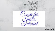 How to Create INSTAGRAM POSTS With CANVA: CANVA For Instagram A Tutorial Bubblegum Pop, The Day Will Come, Let's Create, Printable Quotes, Online Jobs, Online Business, Motivation, Canvas, Instagram Posts