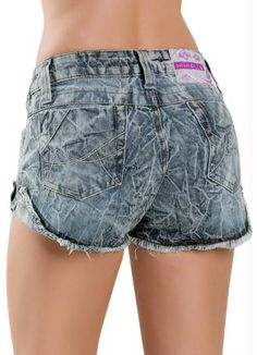Short Feminino Jeans Azul - Posthaus