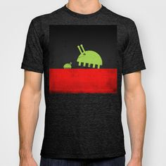 DAVID AND GOLIATH BUGS T-shirt by TheCore - $18.00