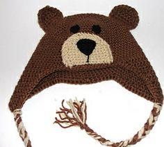 Ravelry: Teddy Bear Hat pattern by Diane Langan