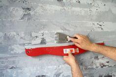 How To Paint a Faux Concrete Finish