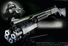 Max out your LE or 12 gauge with the capacity XRAIL system! Capacity has always been a problem with shotguns. Roth Concept Innovations has fixed this with their XRAIL add-on, which gives operators 14 to 22 shells on demand without permanent Tactical Life, Tactical Shotgun, Tactical Gear, Winchester, Ak47, Fire Powers, Home Defense, Cool Guns, Guns And Ammo