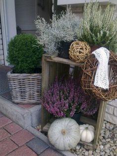Hausfassade / Außenansichten 'Herbstdeko' ähnliche tolle Projekte und Ideen wie im Bild vorgestellt findest du auch in unserem Magazin . Wir freuen uns auf deinen Besuch. Liebe Grüße