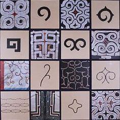 アイヌ ainu pattern