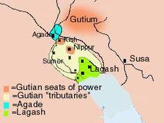 Gutians..... map: gutian gary