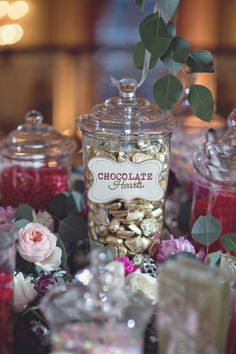 Candy Bar | Heather Saunders Photography | TheKnot.com