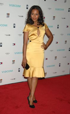 Kerry Washington Photo - Viacom Presents The Dream Concert - Arrivals (2007)