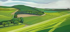 Anna Dillon the Artist - Painting of South Oxfordshire