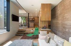 Maison pour une famille à Austin au Texas par Bercy Chen Studio - Journal du…