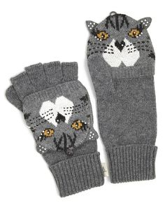 Cat gloves by Yumi @ Aspire Style.