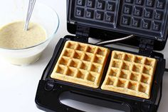 Waffle Iron, Brunch Recipes, Waffles, Deserts, Cooking Recipes, Breakfast, Food, Croque Monsieur, Morning Coffee