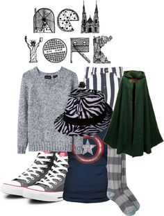 """""""New York"""" by annikahskigh ❤ liked on Polyvore"""