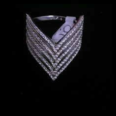 0c8ef5b9ddb40 Silver Chevron Ring New sterling silver Chevron ring. Looks stunning on!  Stamped .925