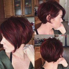 short curly auburn hair - Google Search