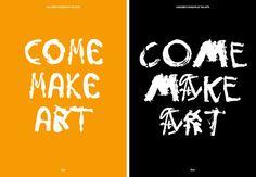 Come Make Art — Base Design
