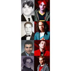 my chemical romance | Tumblr ❤ liked on Polyvore