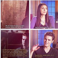 Nina & Paul Interview ~TVD~