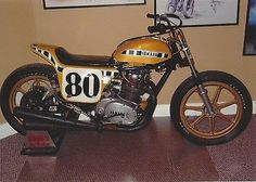 yamaha flat tracker photo | Kenny Roberts Yamaha Mono-Shock Flat-Tracker