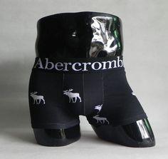 USD$7 Abercrombie & Fitch A&F / AF Men's Boxers Underwear, Cotton