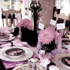 Tablescape by catherine