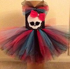Monster High Tutu Dress by HarleighsTutus on Etsy
