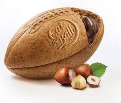 Eat the Ball® American Football multi boosted. Bread of a new Generation. One Ball One Game! American Football, Nuss Nougat Creme, Multi Grain Bread, Grains, Game, Football, Venison, Games, Gaming