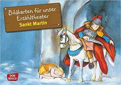 Bildkarten für unser Erzähltheater: Sankt Martin. Kamishibai Bildkartenset…