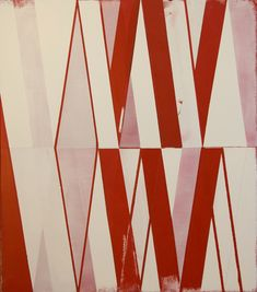 'Sequence/Delay No.1' (2012) by Canadian artist Jeff Depner. Acrylic on canvas, 34 x 30 in. via the artist's site