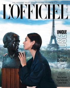 Monica Bellucci at L'Officiel Magazine Italy – February 2020 Monica Bellucci, Paris Jackson, Lanvin, Muse, Anya Taylor Joy, My Magazine, Magazine Covers, Couture Mode, Fashion Cover