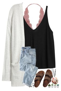 """Just wing it. Life, eyeliner, everything."" by patriciaroland ❤ liked on Polyvore featuring Humble Chic, Free People, Kofta, Birkenstock, Wrap and BOBBY"