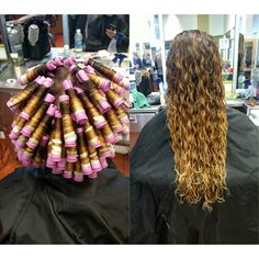 Grey perm rods long 3 chemical texture pinterest perm perms spiral perm urmus Gallery