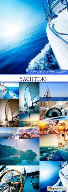 Yachting 14X JPEG  stock images